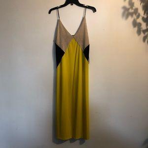 Zara midi slip dress
